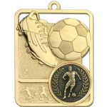 Football Medal 62mm High